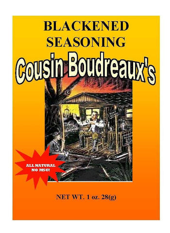 Cousin Boudreaux's Blackend Seasoning