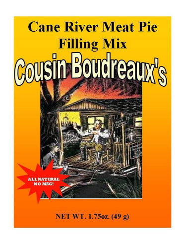 Cousin Boudreaux's Cane River Meat Pie Filling Mix