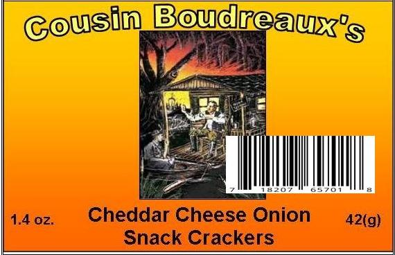 Cousin Boudreaux's Cheddar / Onion Snack Cracker Seasoning