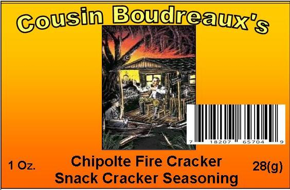 Chipotle Fire Cracker  Flavor Snack Cracker Mix