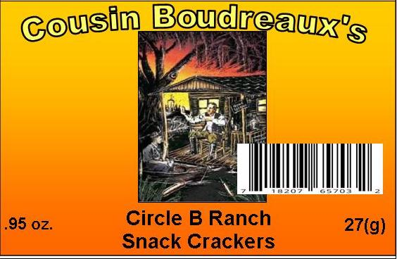Circle B Ranch Snack Cracker Seasoning