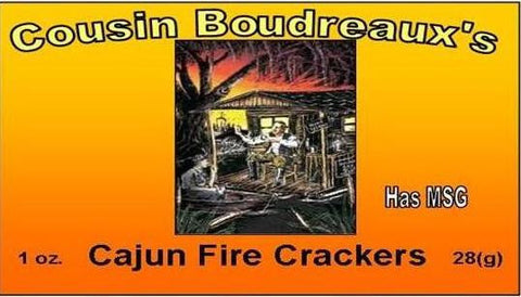 Cousin Boudreaux's Cajun Fire Crackers