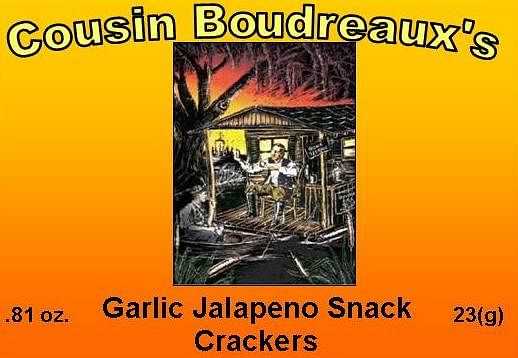 Jalapeno / Garlic Flavor Snack Cracker Mix