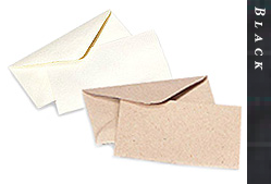 Glitter Burst Envelopes - Greeting Cards & Invitations Size - Black