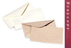 Glitter Burst Envelopes - Greeting Cards & Invitations Size - Burgundy