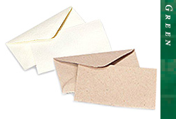 Glitter Burst Envelopes - Greeting Cards & Invitations Size - Green