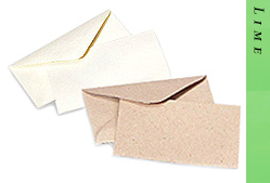 Glitter Burst Envelopes - Greeting Cards & Invitations Size - Lime
