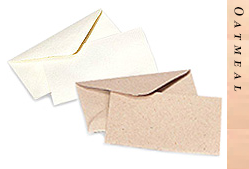 Glitter Burst Envelopes - Greeting Cards & Invitations Size - Oatmeal