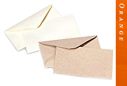 Glitter Burst Envelopes - Greeting Cards & Invitations Size - Orange