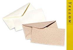 Glitter Burst Envelopes - Greeting Cards & Invitations Size - Yellow