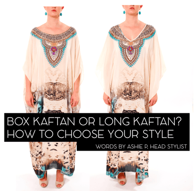 THE DIFFERENCE BETWEEN A LONG KAFTAN & A BOX KAFTAN