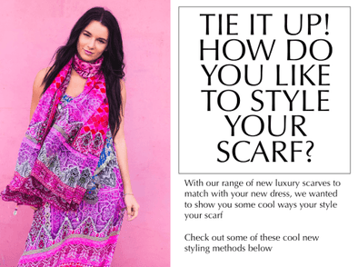 HOW WILL YOU WEAR YOUR NEW SCARF?