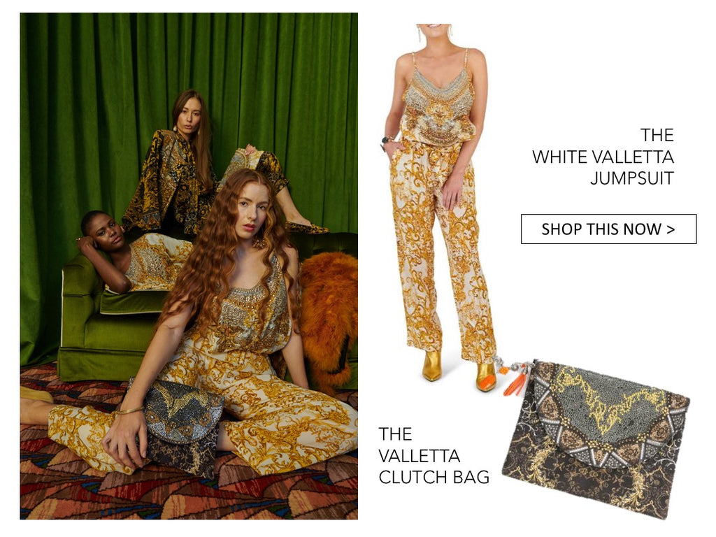 f3268fe69d1b STYLE TIP  Match your kaftan with a clutch bag with crystals