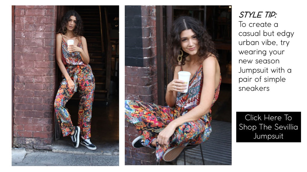 House of Inoa Fashion Sevillia Jumpsuit SS18