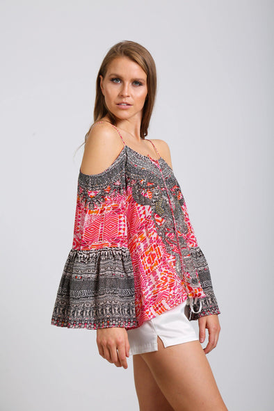 SHIRAZ - GYPSY TOP