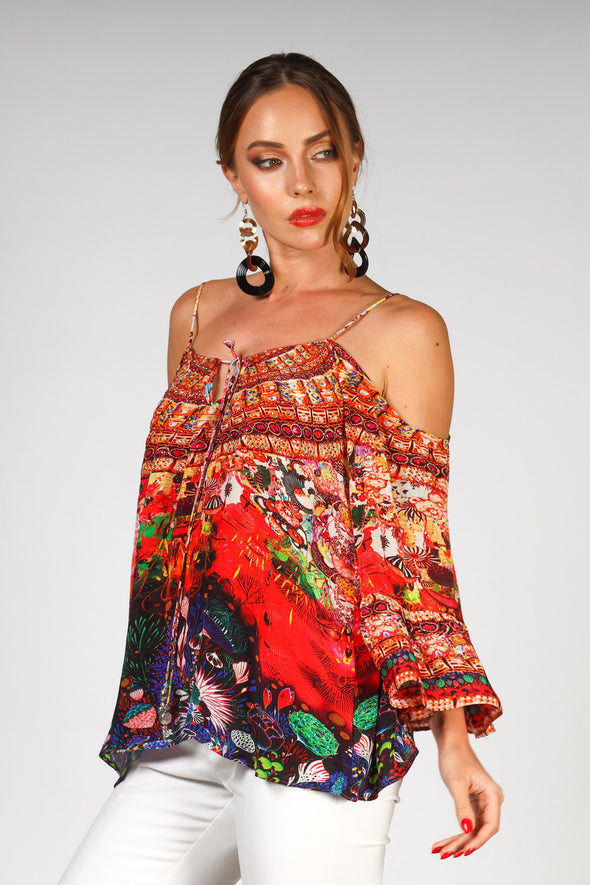 CORRALLE - GYPSY TOP