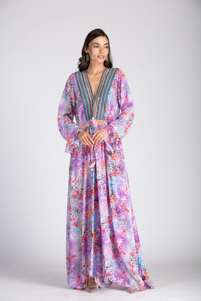 St.LUCIA - LUXE ROBE GOWN