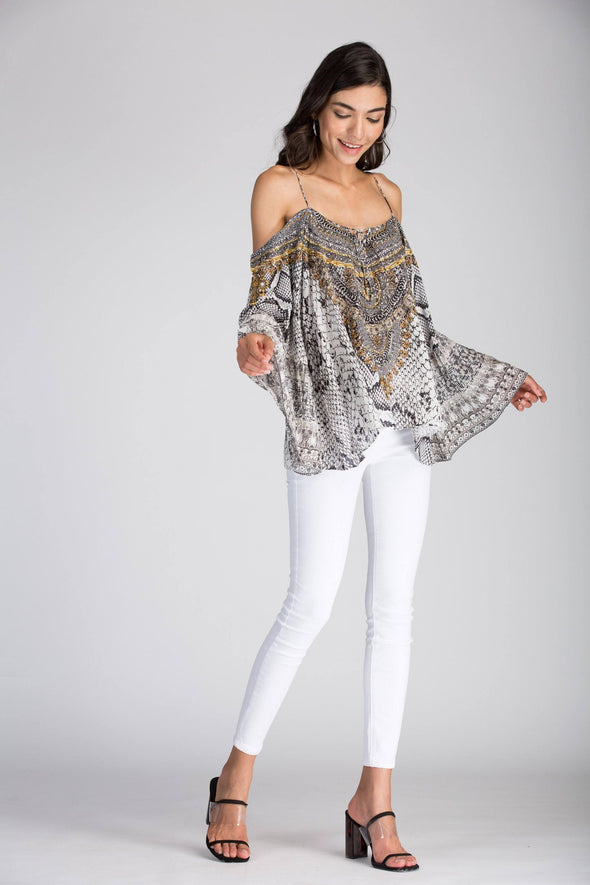 WHITESNAKE - GYPSY TUNIC TOP