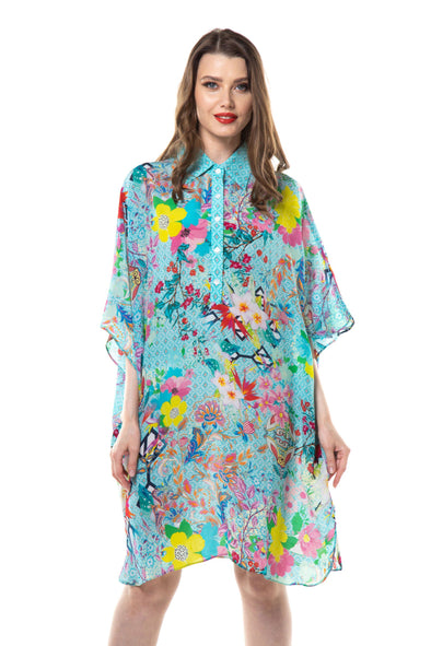 FALCHERA - FLOWING SHIRT DRESS