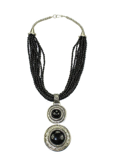 JEWELLERY - BLACK TEMPTRESS NECKLACE