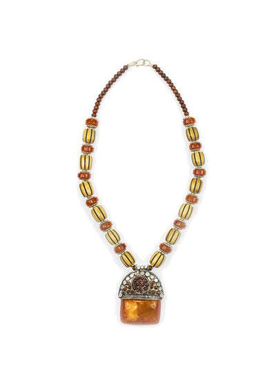 JEWELLERY - AMBA BONE NECKLACE