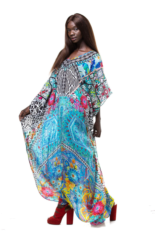 CHARAYA - LONG KAFTAN