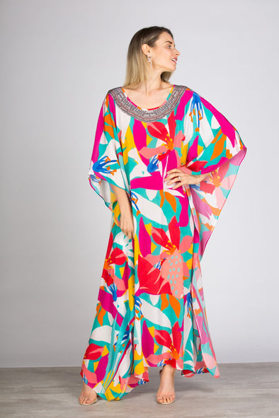 KALEIDOSCOPE - LONG KAFTAN