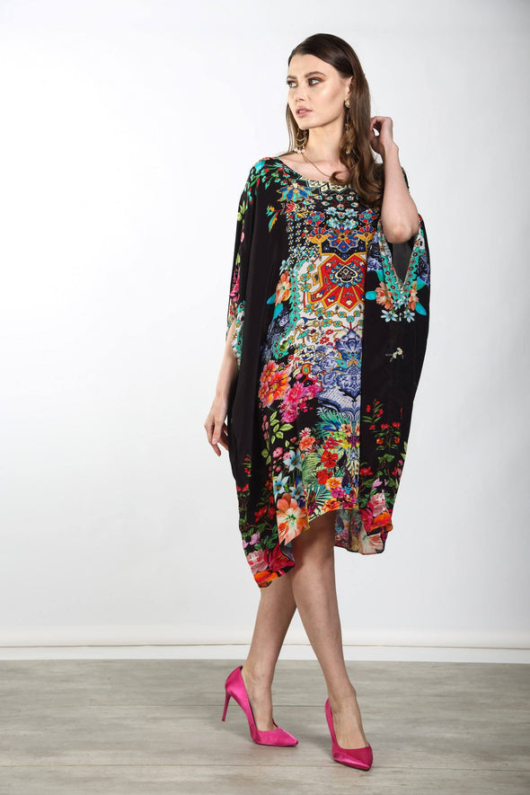 EDEN - SHORT BOX KAFTAN
