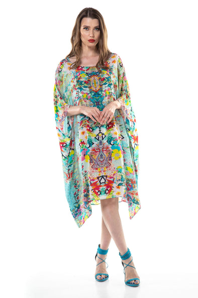 FALCHERA - SHORT BOX KAFTAN