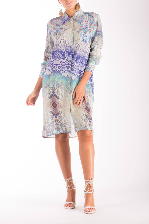 CUMANA MOONLIGHT- SHIRT DRESS