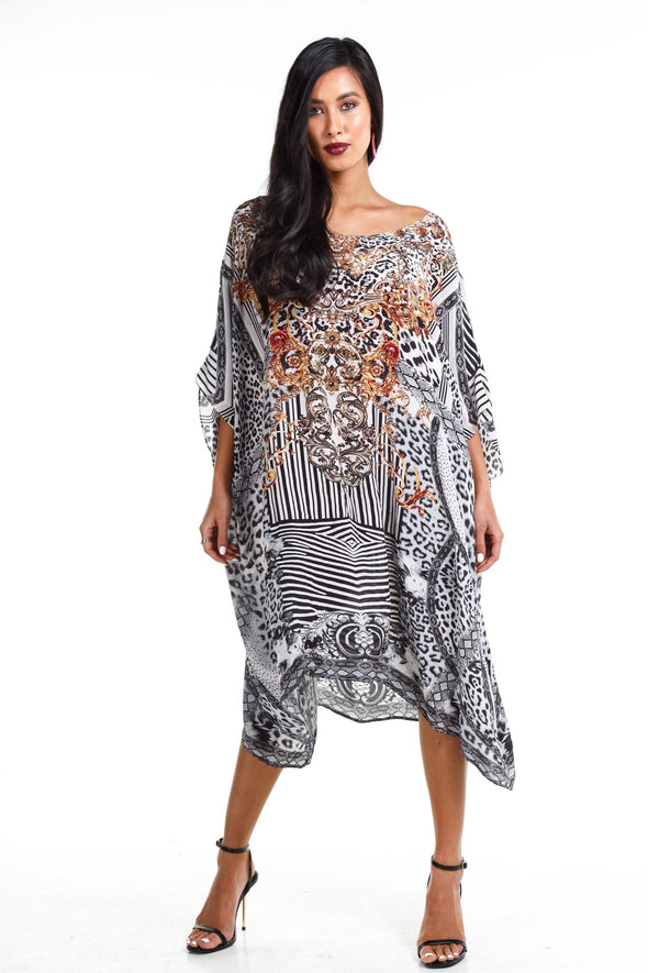 ZAFFARI - SHORT BOX KAFTAN
