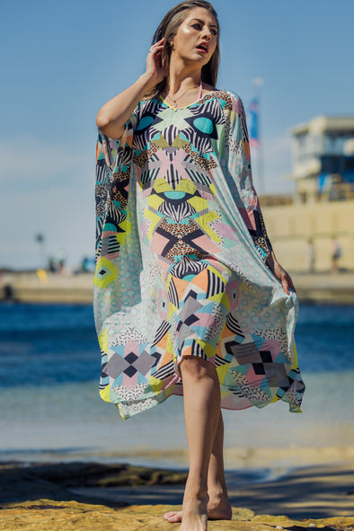 BENEFILL - SHORT KAFTAN
