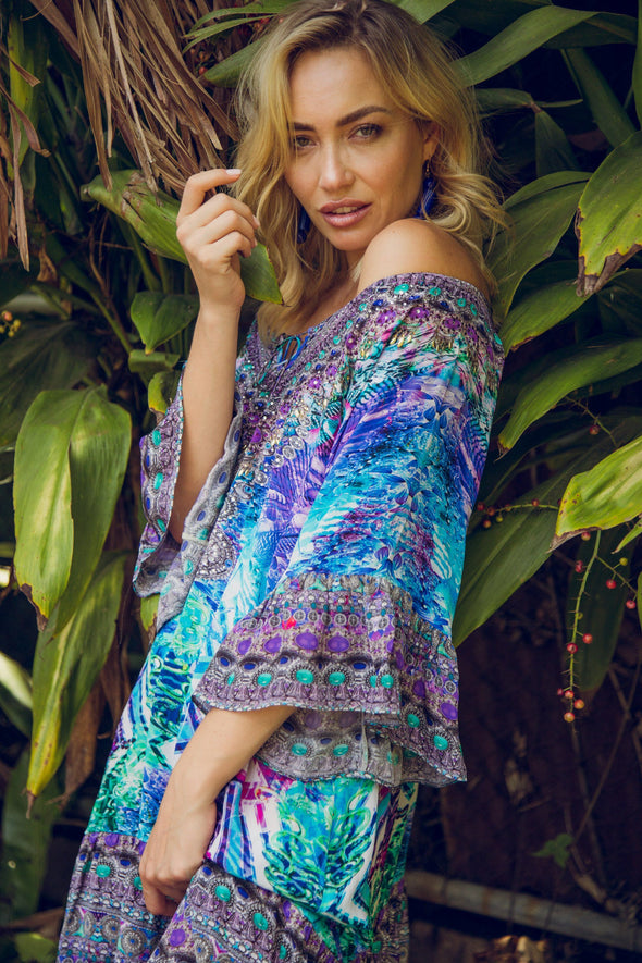 INDIGO SUMMER - GYPSY DRESS