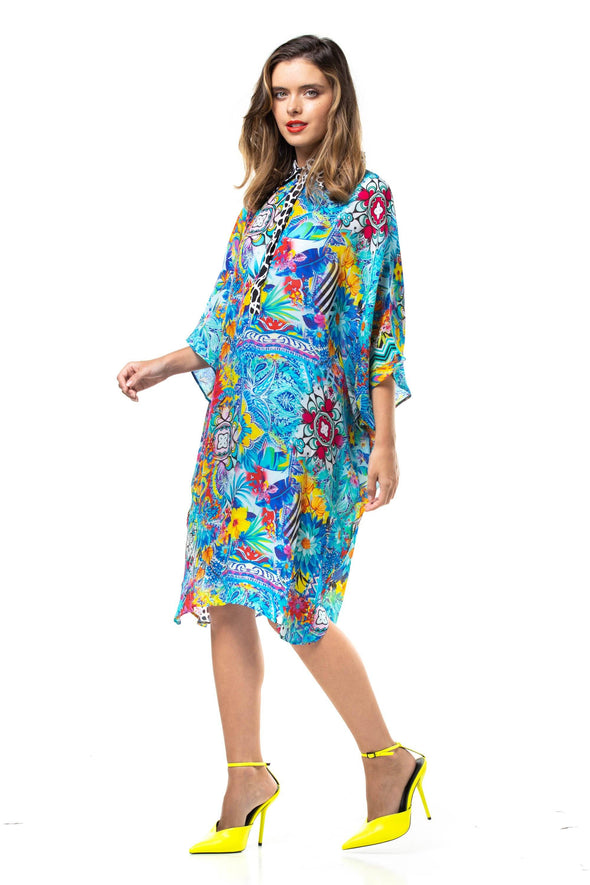 CHARAYA - FLOWING SHIRT DRESS