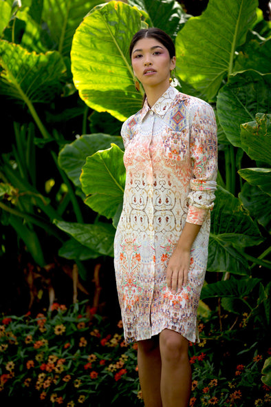 CUMANA SUNSET - SHIRT DRESS