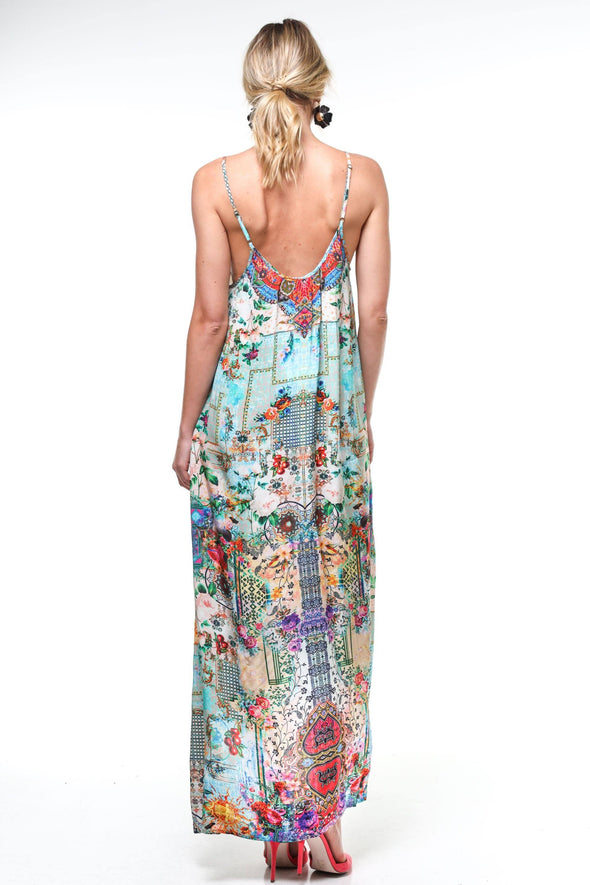 PARISIENNE - MAXI WITH ADJUSTABLE STRAPS