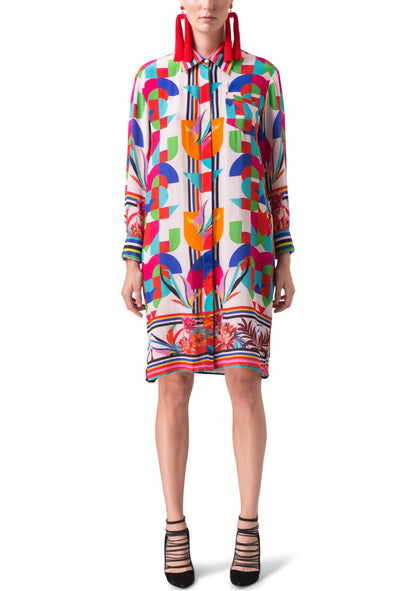 MONDRIAN - SHIRT DRESS