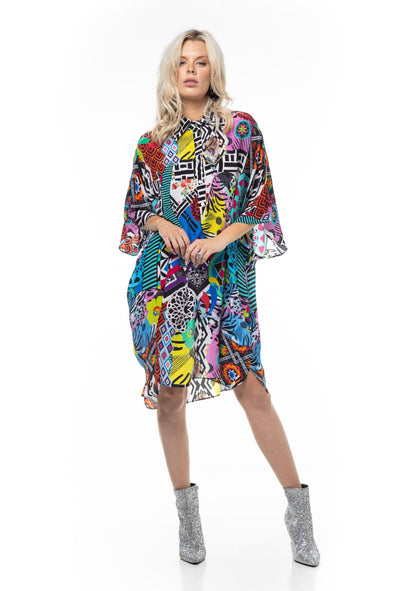 NEO ZULU - FLOWING SHIRT DRESS