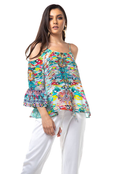 FALCHERA - GYPSY TOP