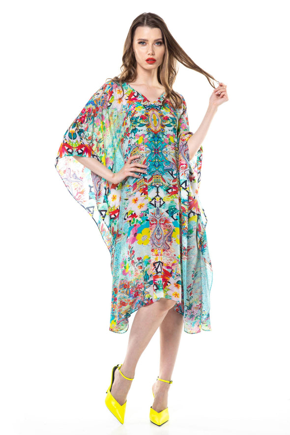 FALCHERA - SHORT KAFTAN