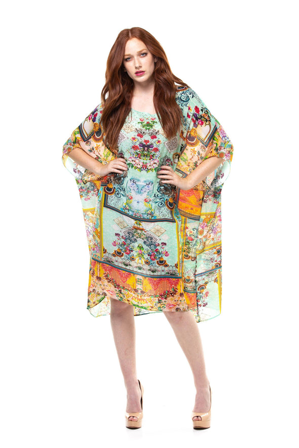 AURELIA - SHORT BOX KAFTAN