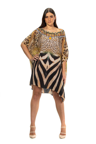 NALLAH - SHORT BOX KAFTAN