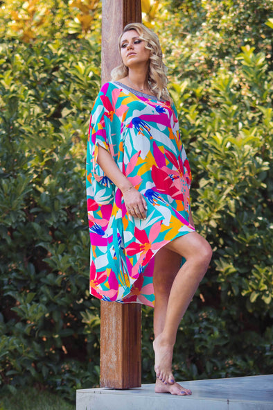KALEIDOSCOPE - SHORT BOX KAFTAN