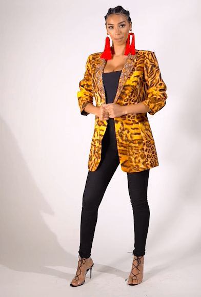 TIGRESS COLLECTION - BLAZER