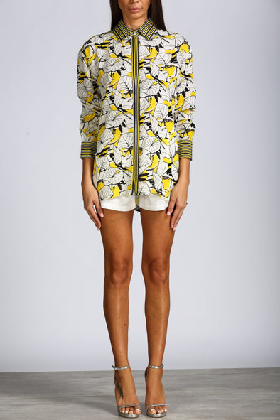 LEMONCELLO - SHIRT WITH COLLAR