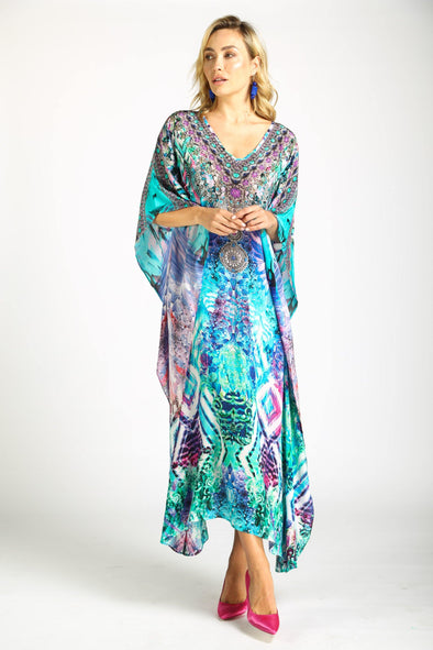 INDIGO SUMMER - LONG KAFTAN