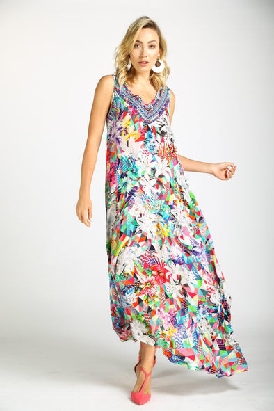 THE ARIA - SLEEVELESS MAXI DRESS