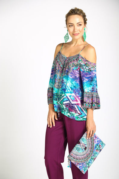 INDIGO SUMMER - GYPSY TOP