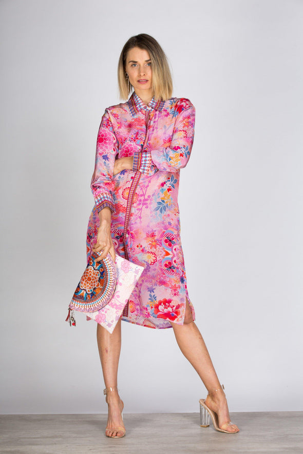CHERRY BLOSSOM - SHIRT DRESS