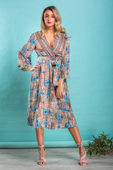 SIERRA COLLECTION -  KIMONO DRESS